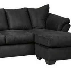 💥IN STOCK 💥💵39 DOWN 💵 🌸Darcy Black Sofa Chaise🌸 for Sale in Fort Worth,  TX