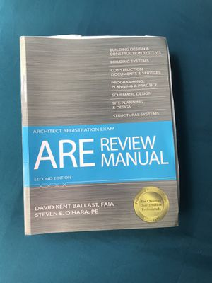 ARE Review Manual (Architect Registration Exam) for Sale in Lauderhill, FL