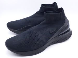 Nike React Flyknit Sock Running Shoes Black/Black Mens Sneakers - Size US 15 for Sale in Hayward, CA