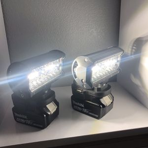Led lights fit Makita 18 V FIRM PRICE precio firme no negosiable no battery no batteria ojo 👀 14,000 Lumens. Each for Sale in Garden Grove, CA