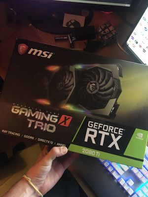 GeForce RTX Gaming X Trio 2080 Ti for Sale in US