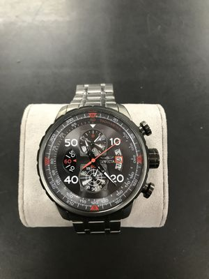 Invicta 17204 Men's Aviator Chronograph Gunmetal Dial Stainless Steel Bracelet Watch for Sale in Baltimore, MD