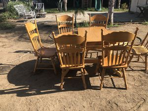 Table 4 or 6 chair for Sale in Ontario, CA