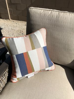 Accent Pillows - outdoor patio for Sale in Laveen Village, AZ