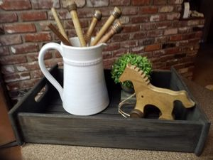 Wood decor tray for Sale in Medford, OR