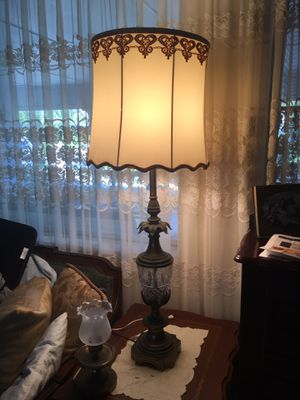 Metal and glass lamps for Sale in Fort Lauderdale, FL