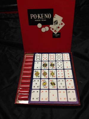 Card Game - Pokeno (12 board set) for Sale in Jackson, NJ