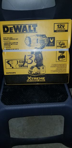 DeWalt 12 volt 3/8 Drive 10 mm impact wrench for Sale in Germantown, MD