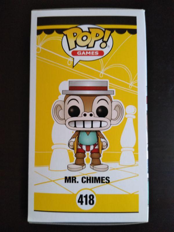 Cuphead Mr. Chimes Funko pop