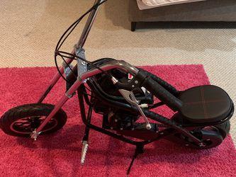 MotoTec 49cc Gas Kids Mini Chopper Bike 2-stroke In Black - Brand New for Sale in Woodstock,  MD