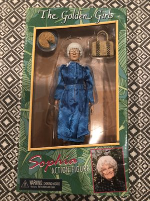 The Golden Girls 'Sophia' Action Figure Doll for Sale in Pasadena, CA