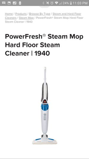 New bissell steam mop for Sale in Walkersville, MD