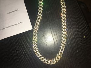 Cuban chain 20mm Gold plated Brass chain for Sale in Dallas, TX