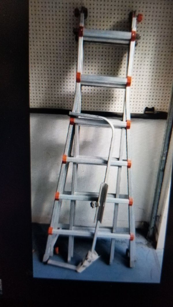 LITTLE GIANT 26FT LADDER