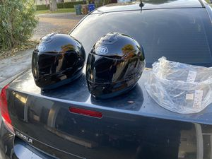 2 Shoei Motorcycle helmets medium and xl for Sale in Concord, CA