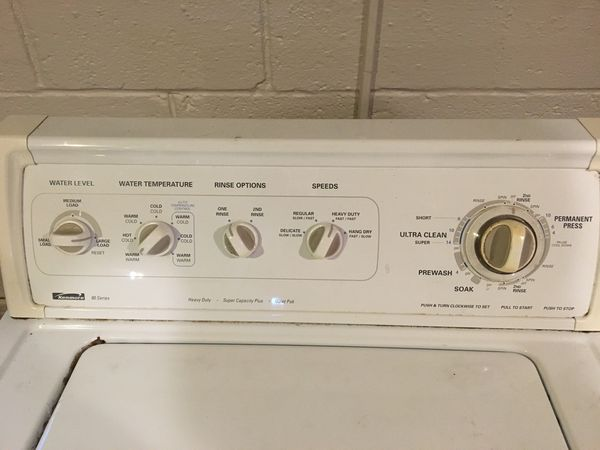 Kenmore 80 Series Washer & Dryer