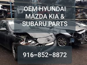 OEM HYUNDAI KIA MAZDA & SUBARU PARTS for Sale in Sacramento, CA