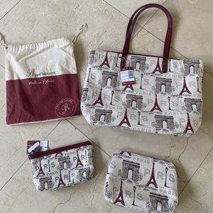 Tote Bag Royal Tapisserie Made In France 3 Pieces for Sale in Miami, FL