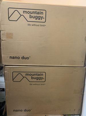 Mountain Buggy Nano Duo Double Stroller - Cyber for Sale in Katy, TX