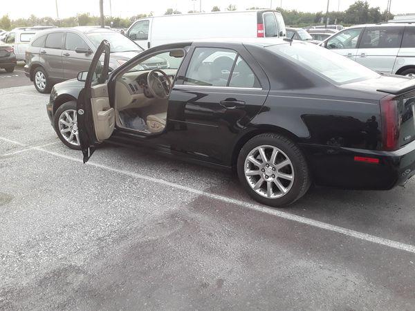 2005 Cadillac sts4 8