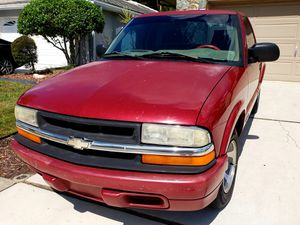 2001 chevy S10 pickup for Sale in NEW PRT RCHY, FL