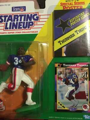 Staring Lineup Thurman Thomas Buffalo Bills action figure for Sale in Portland, OR