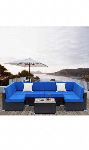 Outdoor furniture, patio furniture, patio garden sectional, SALE! $835 retail! for Sale in Maricopa, AZ