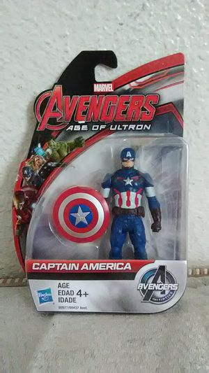 Avengers age of ultron captain America action figure for Sale in Fresno, CA