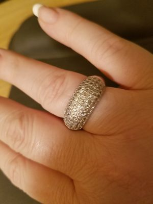 Sterling Silver Cubic Zirconia Band for Sale in Knoxville, TN