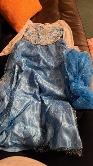 Snow queen dress for Sale in Shelbyville, IN