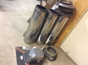"""8"""" Wood stove chimney for Sale in Snohomish, WA"""