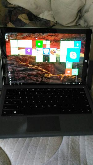 Microsoft Surface pro 3 with dock and charger for Sale in Boise, ID