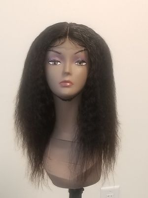Brazilian human hair kinky straight with closure for Sale in Washington, DC