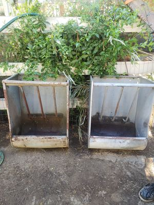 2 Heavy Duty Horse Feeders $100.00 FIRM for Sale in Montclair, CA
