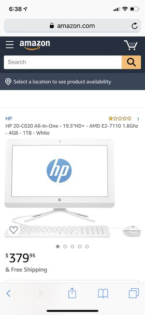 Hp all in one! 150.00 each! for Sale in Port St. Lucie, FL
