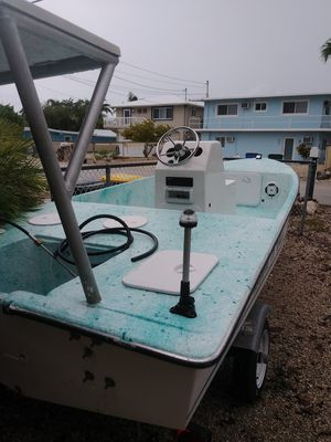 15 ft angler boats skiff flats boat for Sale in Hialeah, FL