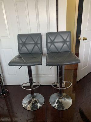 Adjustable Swivel Barstools w/ Backs for Sale in Seattle, WA