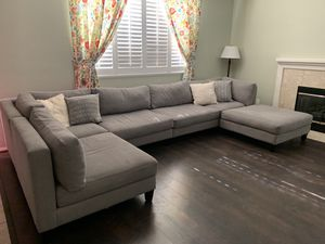 Large Light Blue Couch for Sale! for Sale in Lancaster, CA