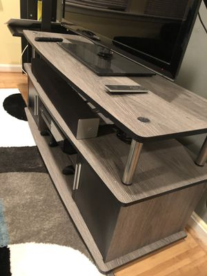 Modern rustic entertainment stand for Sale in Washington, DC