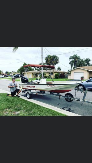 Boston Whaler 15' center console for Sale in Pompano Beach, FL