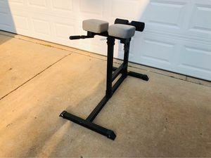 Hyperextension - GHD - Lower Back - Roman Chair - Workout - Fitness - Exercise - Gym Equipment for Sale in Downers Grove, IL