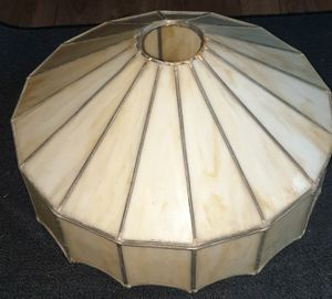 Vintage Slag Glass Lamp Shade for Sale in Damascus, MD