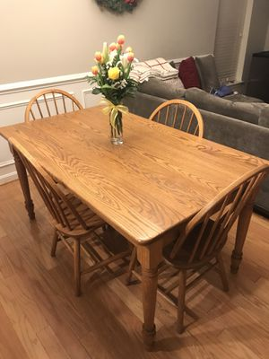 Solid Wood Kitchen/Dining Table for Sale in Charlottesville, VA