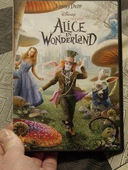 Alice In Wonderland DVD Movie for Sale in Palmdale,  CA