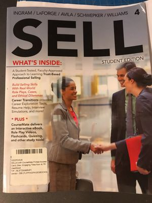 Marketing Sales Textbook for Sale in San Diego, CA