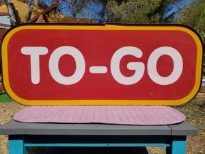 $100 TO GO SIGN for Sale in Las Vegas, NV