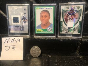 Hall of Fame Running Backs Rookie Cards for Sale in Bakersfield, CA