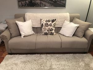 Sleeper Sofa / Sofa Bed / Pull-Out Couch / Beige Tan for Sale in North Bethesda, MD