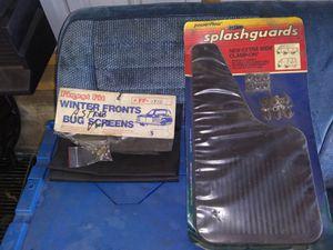 Winter an bug guard an splash fenders for Sale in Wadena, MN