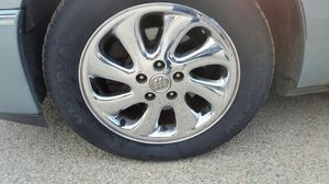 "03-04 Buick Park Avenue Ultra Aluminum-Chrome Factory 17"" Rim for Sale in Denver, IA"